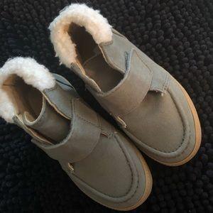Crazy 8 Khaki Green Toddler winter boots 🥾🥾
